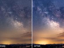 editing photos of stars