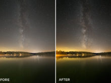 long exposure lightroom presets