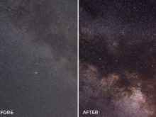 colorful effects for stars in Lightroom