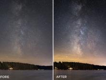 astrophotography lightroom presets