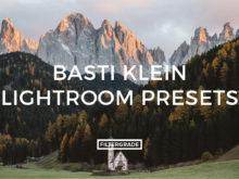 Featured Basti Klein Lightroom Presets - FilterGrade