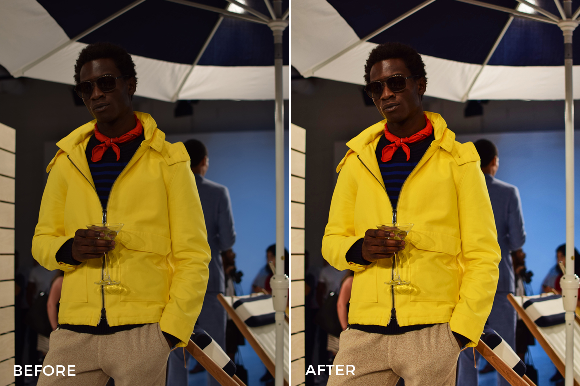 studio fashion photo editing