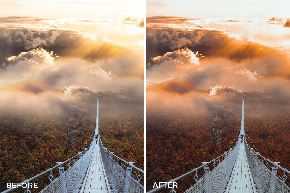 colorful filters for lightroom