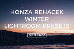 Honza Rehacek Winter Lightroom Presets