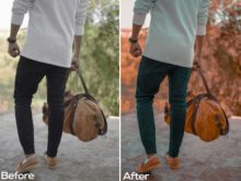 Riyaz MN Brown - Aqua Lightroom Presets - FilterGrade Marketplace