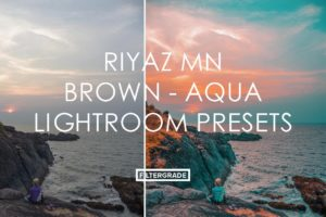 1 Riyaz MN Brown Aqua Lightroom Presets - FilterGrade Marketplace