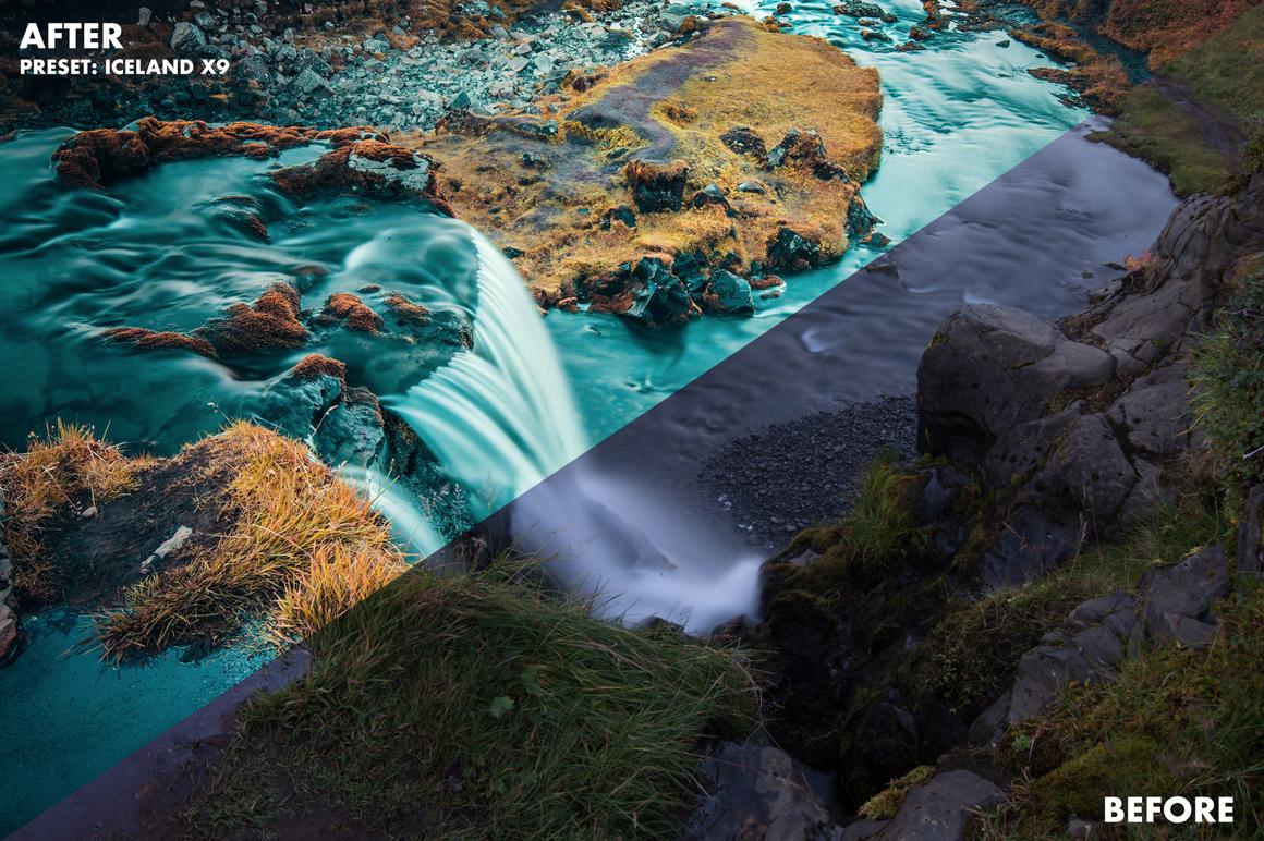 8 Basti Hansen Iceland X Lightroom Presets - FilterGrade Marketplace