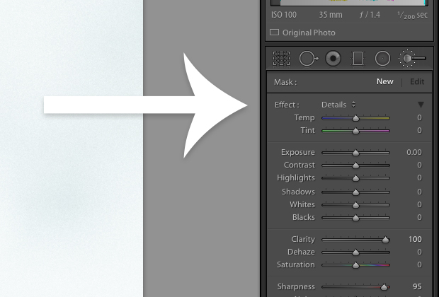 How to use Lightroom Brushes.