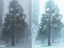 6 Carson Breed Lightroom Presets Preview - FilterGrade Marketplace
