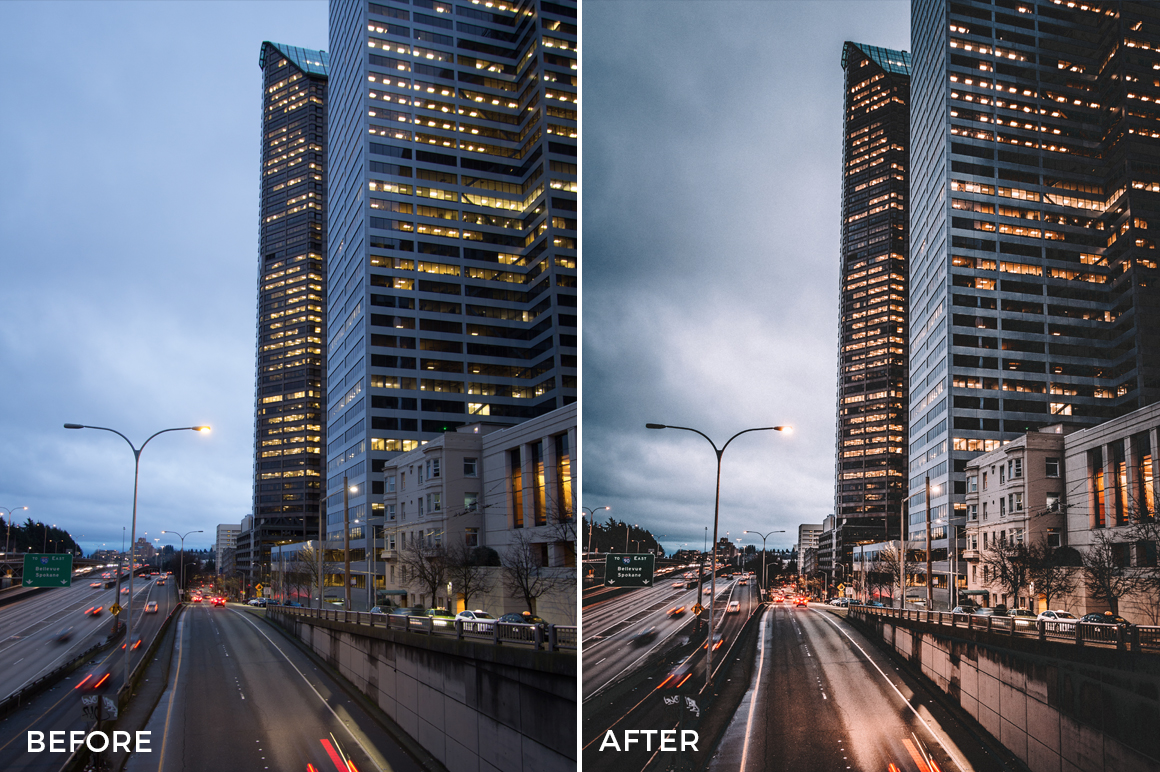3 Alexander Zhuk Night Urban II Lightroom Presets