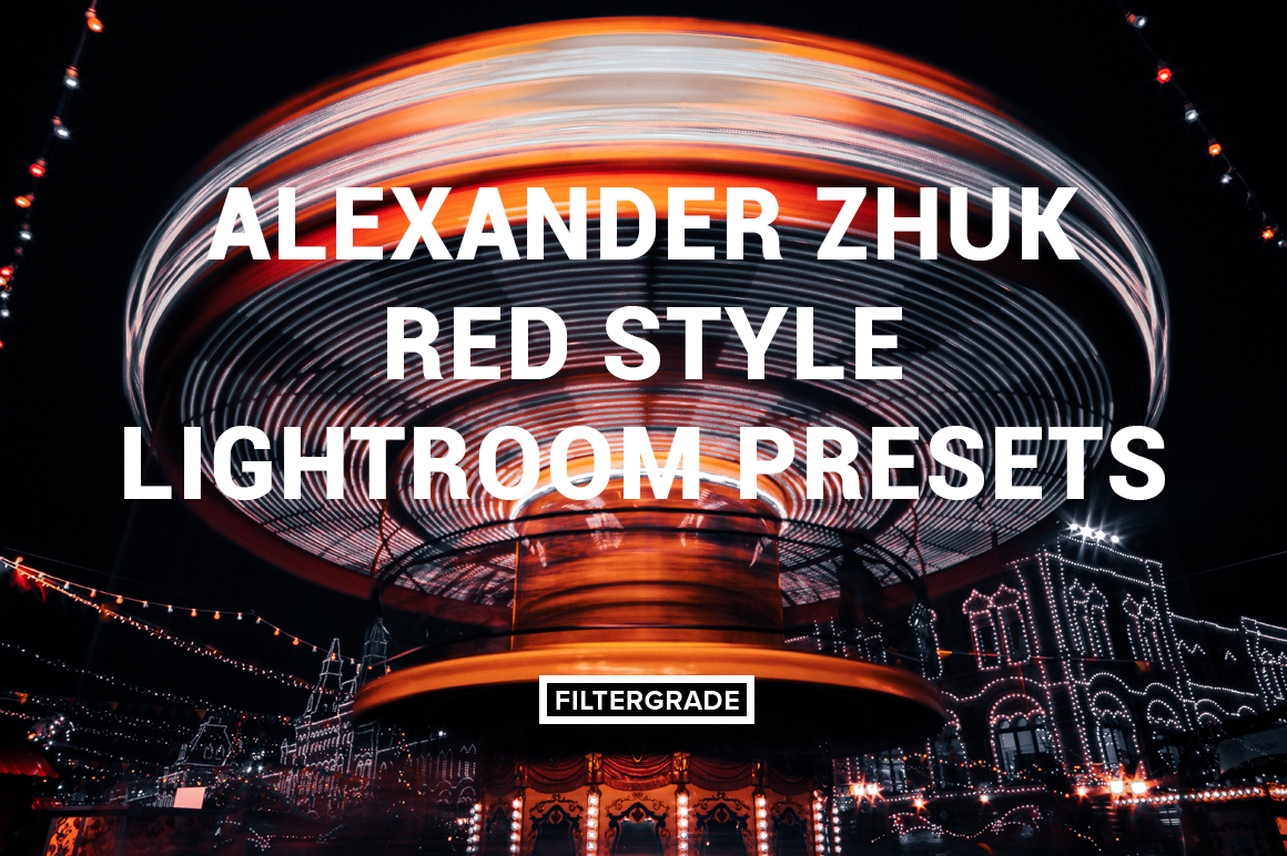Featured Alexander Zhuk Red Style Lightroom Presets - FilterGrade Marketplace
