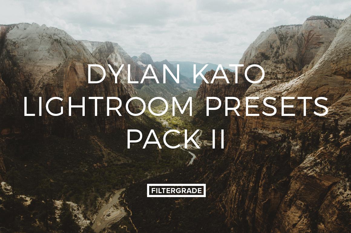 Featured Dylan Kato Lightroom Presets - FilterGrade Marketplace