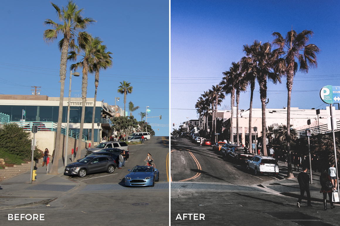 9 Alexander Zhuk Summer LA Lightroom Presets - FilterGrade Marketplace
