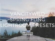 Featured VancityWild Spring Fling Lightroom Presets - FilterGrade