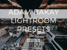 Featured Adam Bakay Lightroom Presets - FilterGrade Marketplace