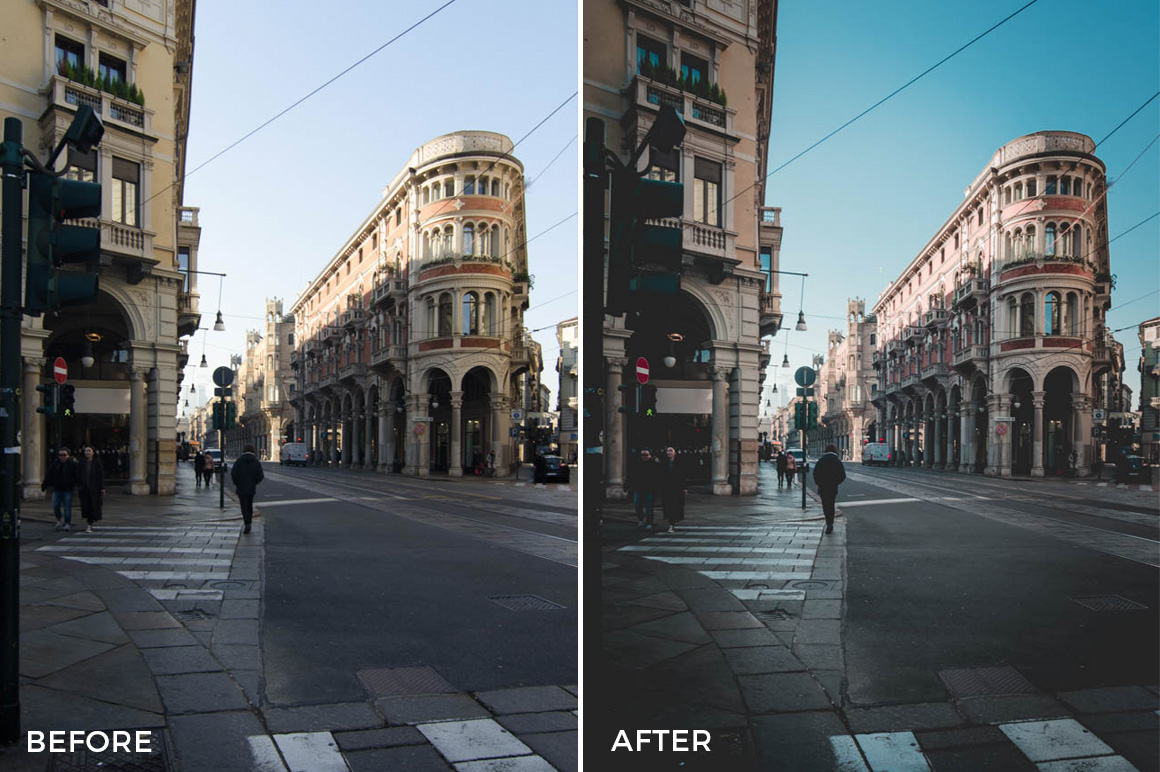6 Emanuele Di Mare Day & Night Lightroom Presets - FilterGrade Marketplace