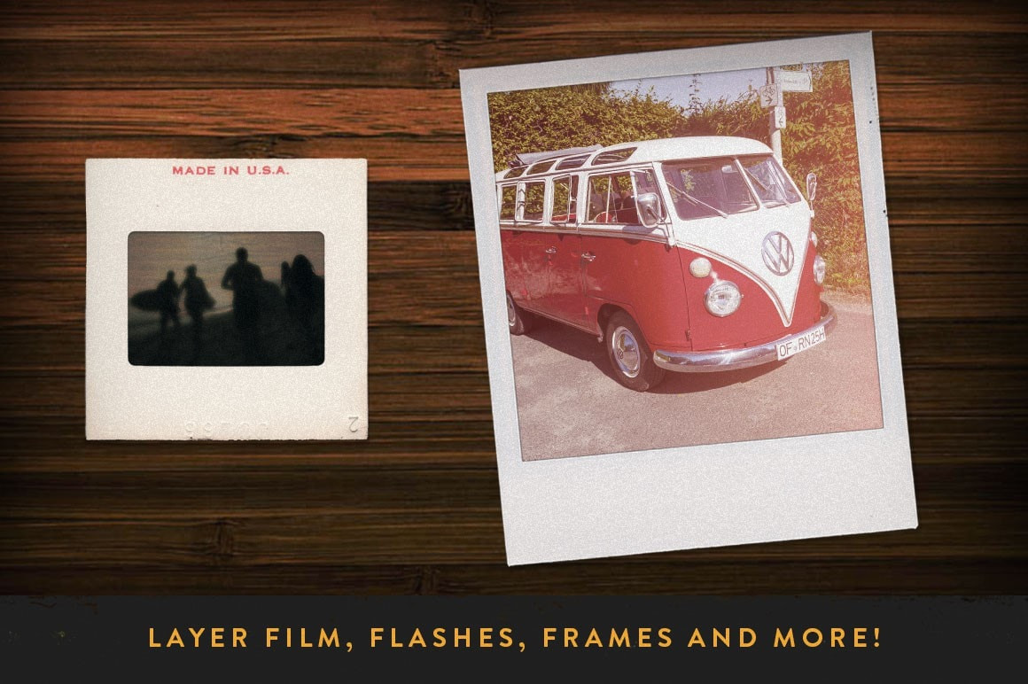 Retro Supply Co Film Photoshop Actions Bundle