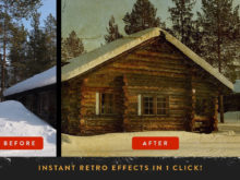 retrolab vintage film photography effects