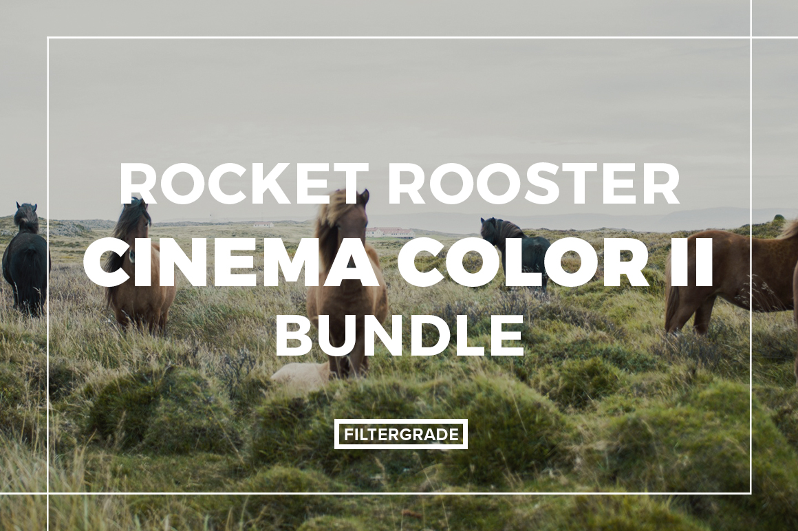 Featured Rocket Rooster Cinema Colors II LUTs - FilterGrade Marketplace