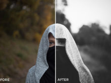4 David Pordan Moody Chrome Lightroom Presets - FilterGrade Marketplace
