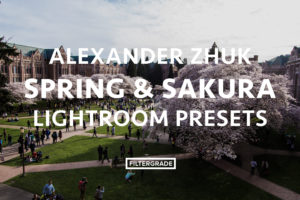 Featured Alexander Zhuk Spring & Sakura Lightroom Presets - FilterGrade Marketplace
