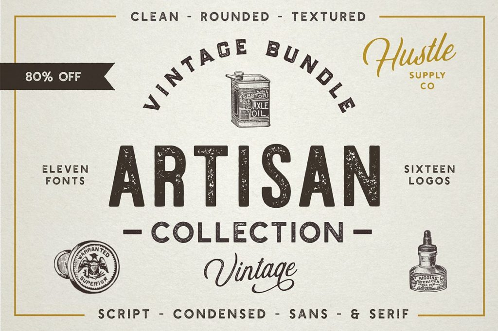 Artisan Collection Vintage Font Family