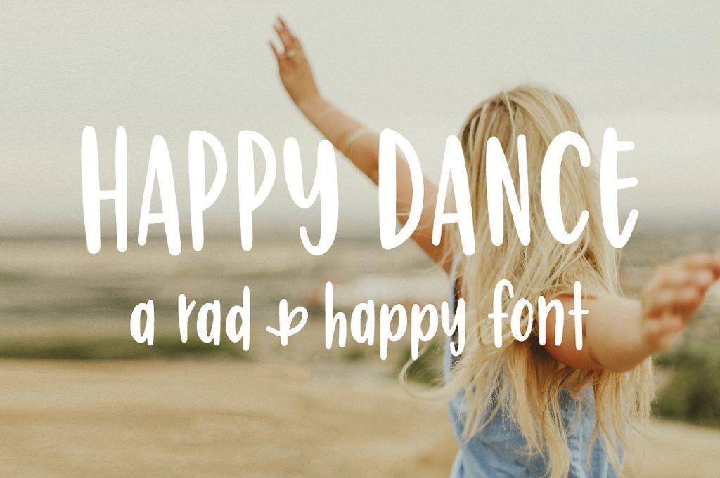 Happy Dance Font