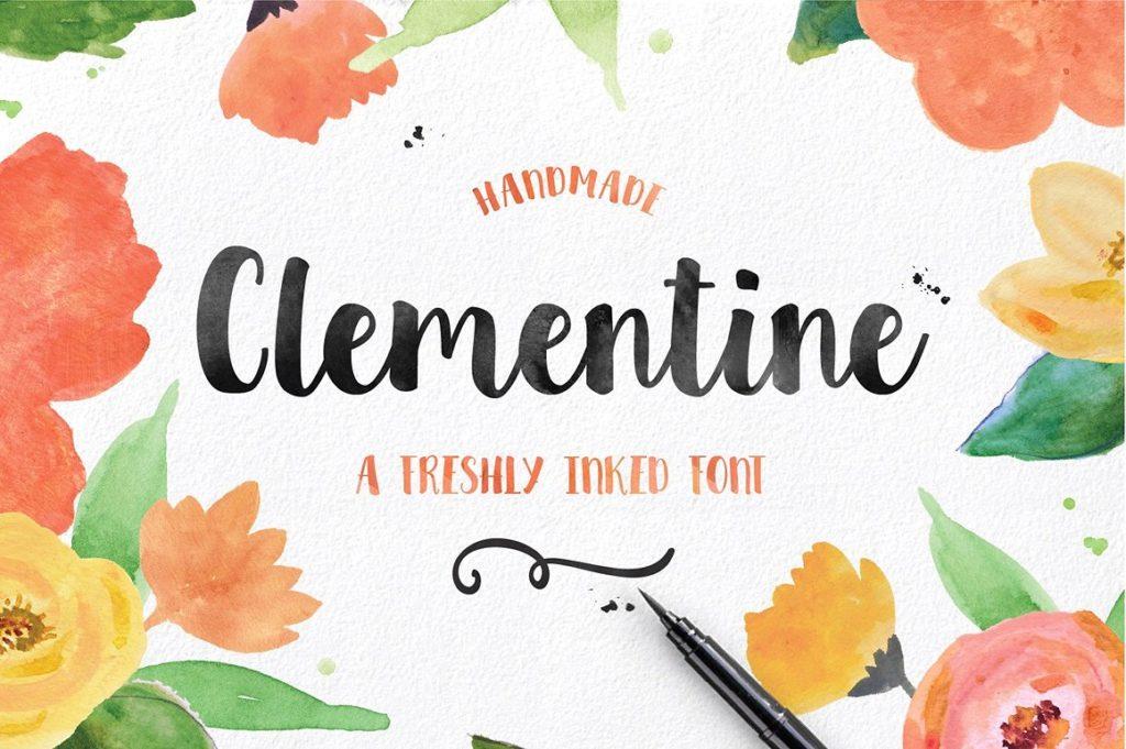 spring font designs