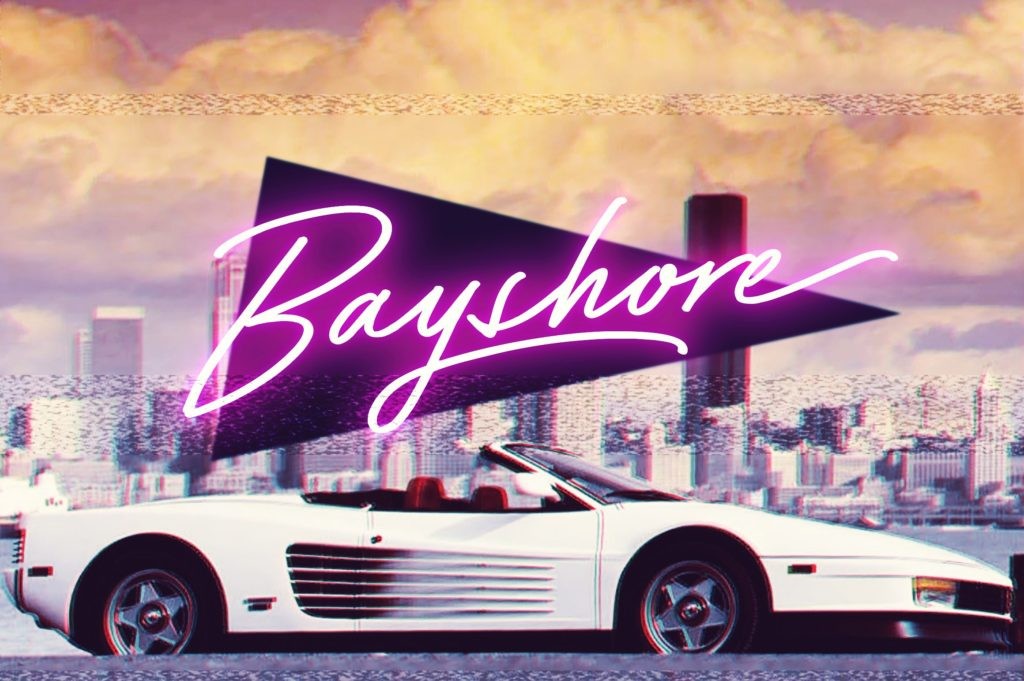 bayshore spring font by sam parrett