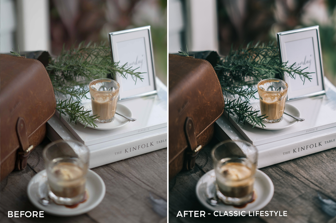16 Classic Lifestyle - Sean Dalton Cafe & Food Film Lightroom Presets - FilterGrade Marketplace