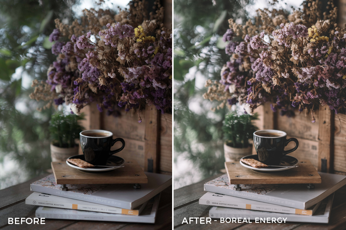 12 Boreal ENergy - Sean Dalton Cafe & Food Film Lightroom Presets - FilterGrade Marketplace