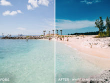 13 White Sand Beaches - Kal Visuals Landscape Lightroom Presets I - Kyle Andrew Loftus - FilterGrade Digital Marketplace