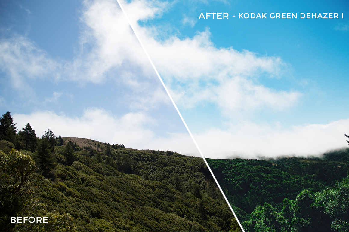 10 Kodak Green Dehazer I - Kal Visuals Landscape Lightroom Presets I - Kyle Andrew Loftus - FilterGrade Digital Marketplace