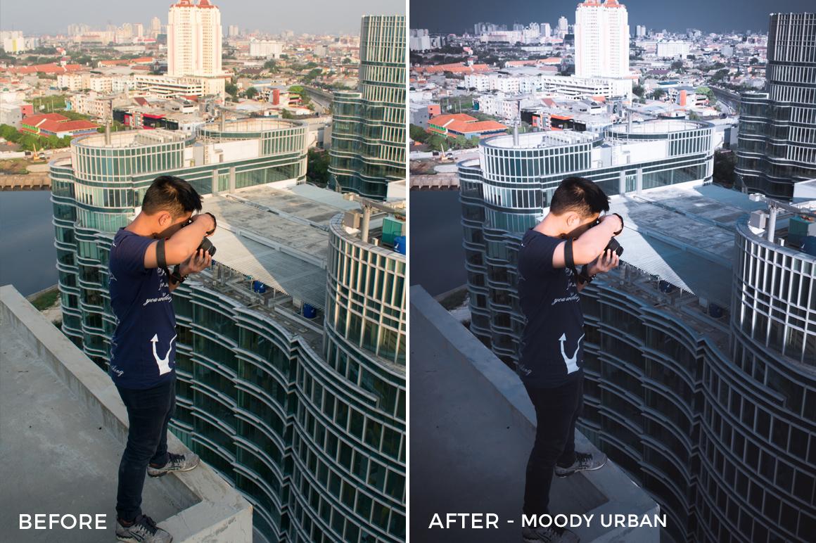 7 Moody Urban - Arvin Febry Lightroom Presets - Arvin Febry - FilterGrade Digital Marketplace