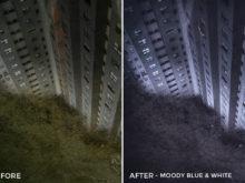 3 Moody Blue and White - Arvin Febry Lightroom Presets - Arvin Febry - FilterGrade Digital Marketplace