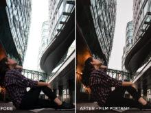 1 Film Portrait - Arvin Febry Lightroom Presets - Arvin Febry - FilterGrade Digital Marketplace