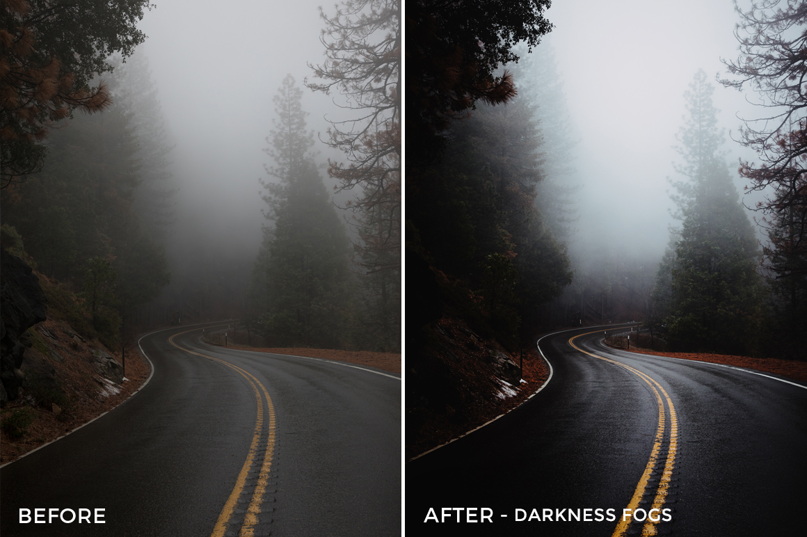 3 Darkness Fogs - Becca Ruski Lightroom Presets - Becca Ruski - FilterGrade Digital Marketplace