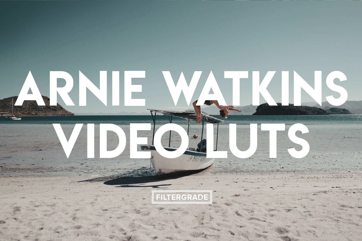 Cover Arnie Watkins Video LUTs - FilterGrade Digital Marketplace