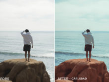 3 - Carlsbad - Seantfr Lightroom Presets - Sean Kim - FilterGrade Digital Marketplace