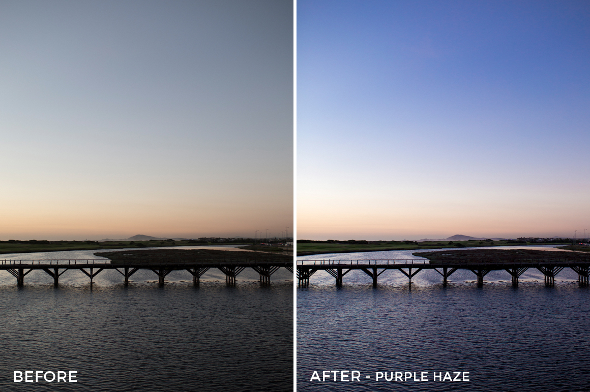 6 - Purple Haze - Osse Greca Sinare Sand & Waves Lightroom Presets - FilterGrade Digital Marketplace