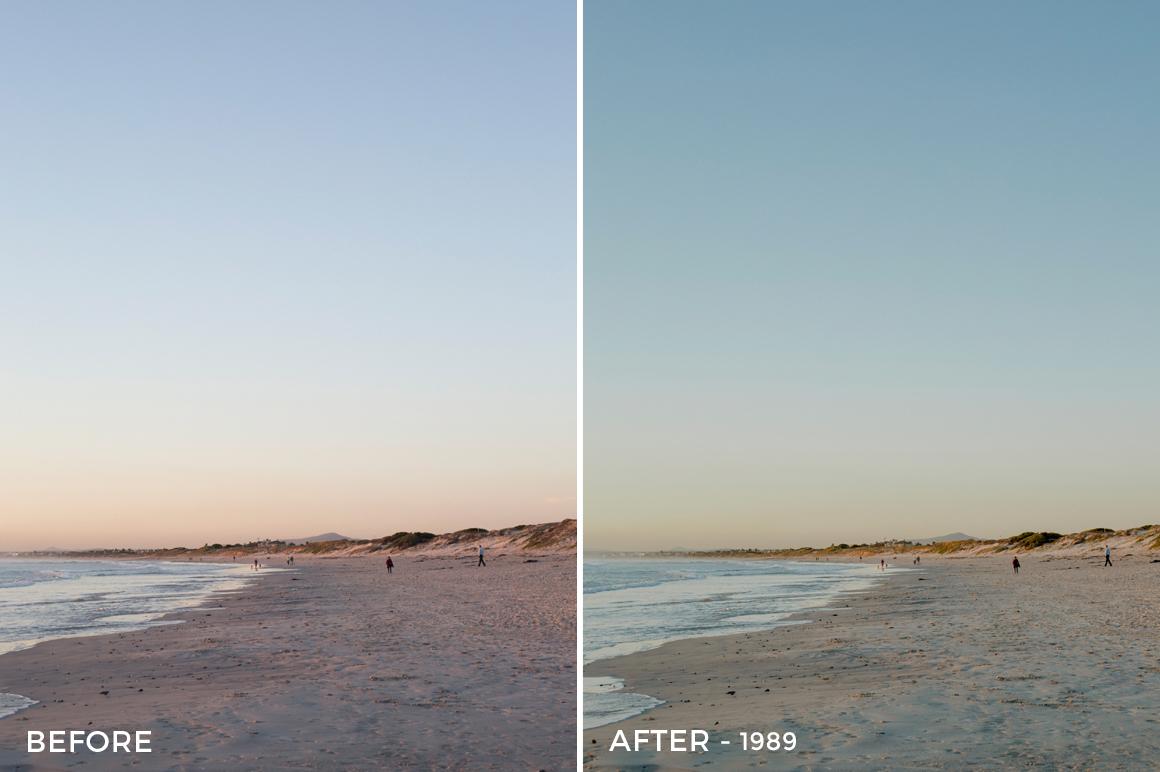 1 - 1989 - Osse Greca Sinare Sand & Waves Lightroom Presets - FilterGrade Digital Marketplace