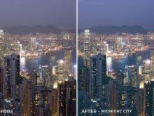 10 - Midnight City - Andreknot Lightroom Presets - FilterGrade Digital Marketplace