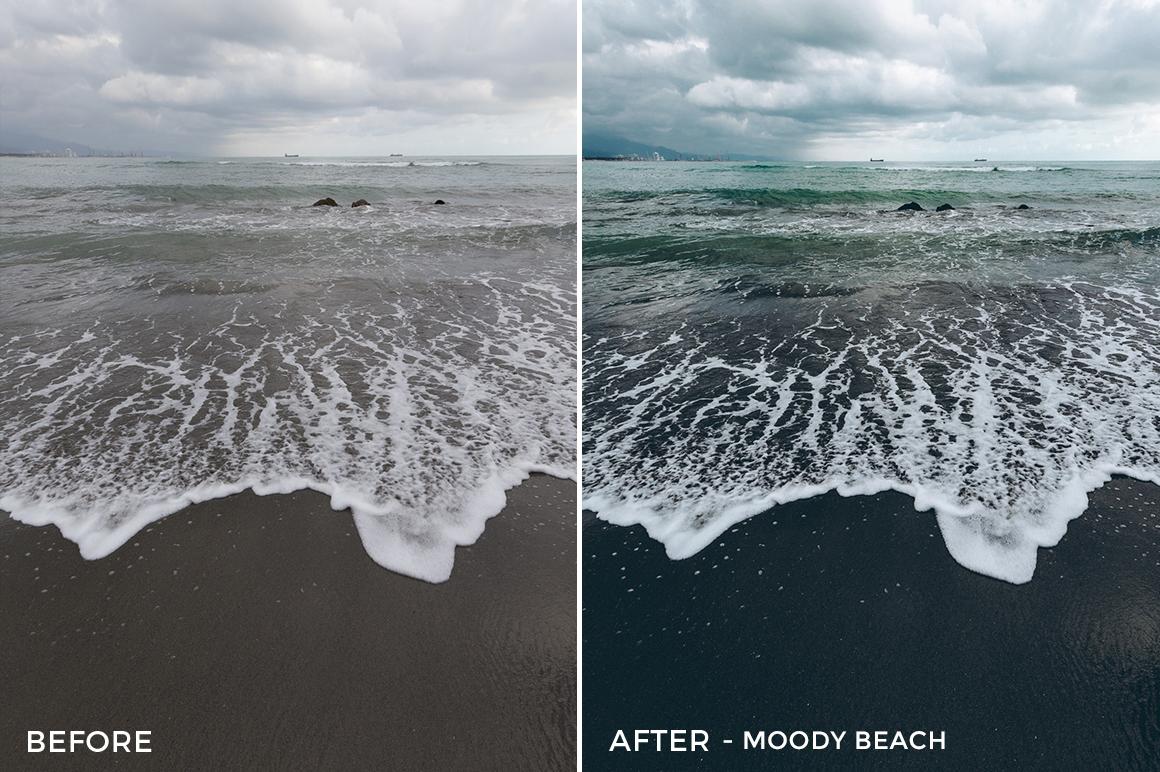 6 - Moody Beach - Andreknot Lightroom Presets - FilterGrade Digital Marketplace