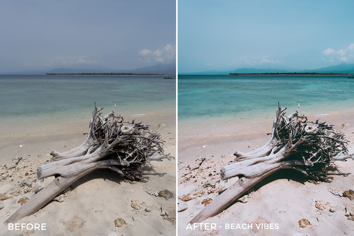 1 - Beach Vibes - Andreknot Lightroom Presets - FilterGrade Digital Marketplace