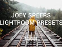FEATURED Joey Speers Lightroom Presets - FilterGrade Marketplace