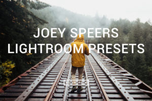 FEATURED Joey Speers Lightroom Presets - FilterGrade Marketplace
