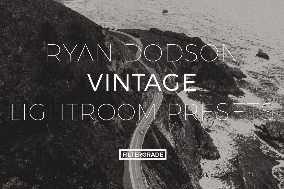 Featured Ryan Dodson Vintage Lightroom Presets - FilterGrade Marketplace