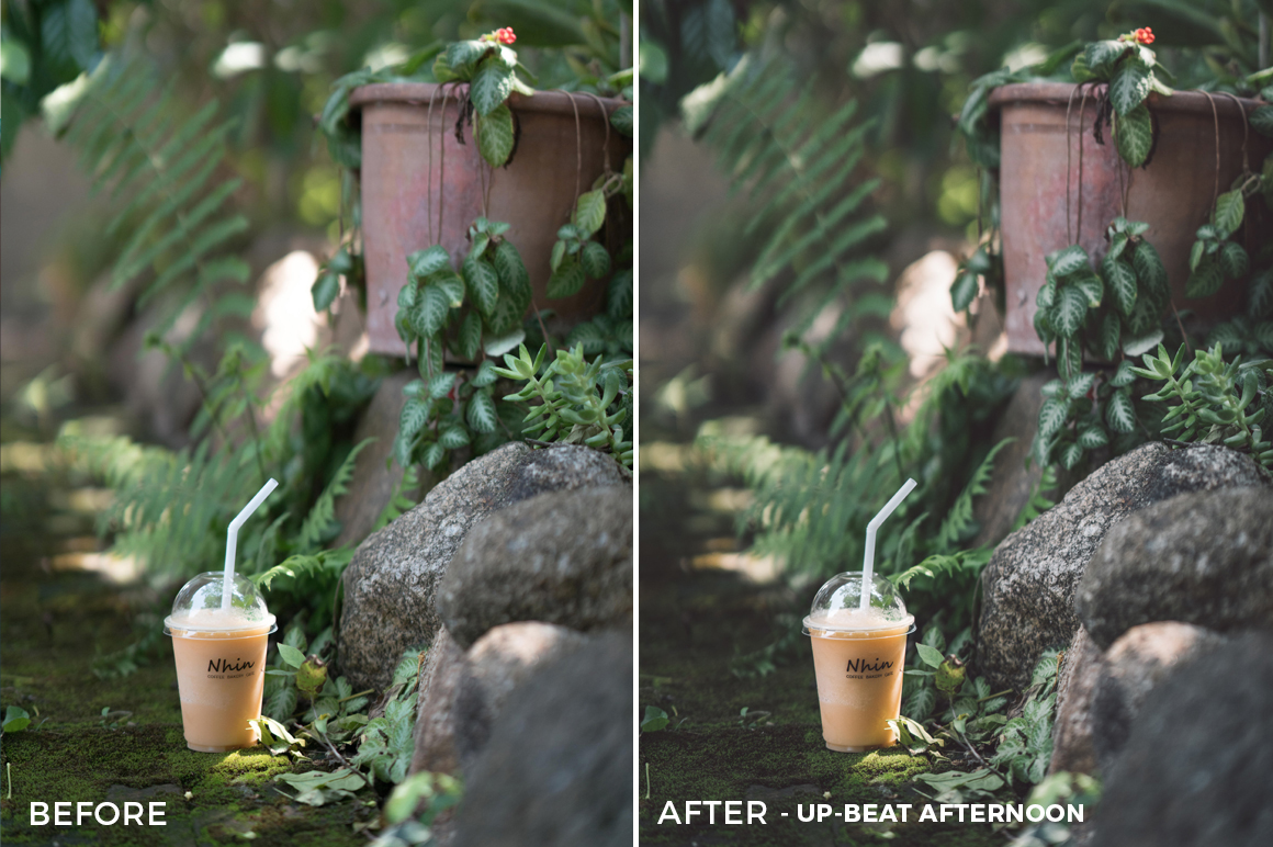 4 Up-Beat Afternoon Sean Dalton Cafe & Food Film Lightroom Presets - FilterGrade Marketplace