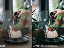 1 Sophisticated Tones Sean Dalton Cafe & Food Film Lightroom Presets - FilterGrade Marketplace