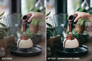 1 Sophisticated Tones Sean Dalton Cafe & Food Film Lightroom Presets - FilterGrade Marketplace
